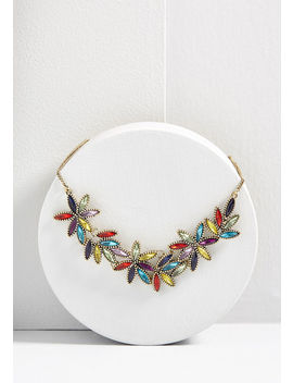 Glitz And Glimmer Statement Necklace by Modcloth