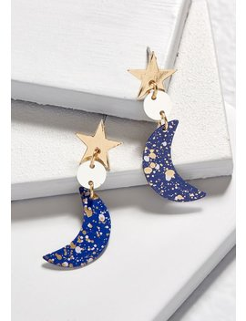 Swoon And Stars Earrings by Modcloth