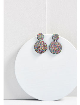 Inner Shine Glitter Earrings by Modcloth
