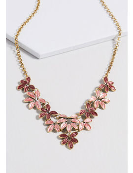 Bountiful Bouquet Statement Necklace by Modcloth