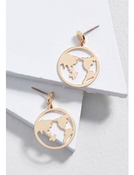 Globe Springs Eternal Earrings by Modcloth
