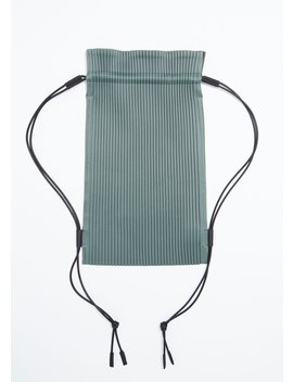 Pleated Bag by Issey Miyake Homme Plisse