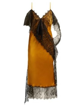 Devotion Lace Trimmed Satin Slip Dress by Romance Was Born