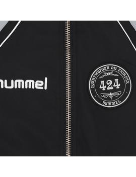 424 Boxy Zip Jacket Black by Hummel