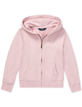 Big Girls French Terry Hoodie by Polo Ralph Lauren