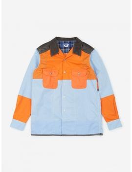 Oxford Shirt   Sax/Orange by Junya Watanabe Man