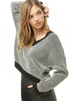 Contrast Knit Sweater by Forever 21