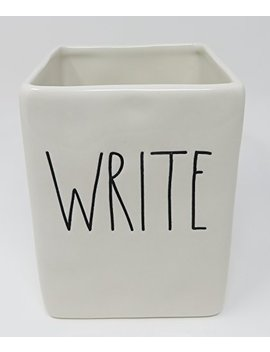 Rae Dunn By Magenta Ceramic Write Pen And Pencil Holder by Rae Dunn