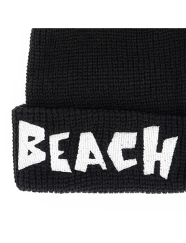 Logo Beanie Black by Life's A Beach