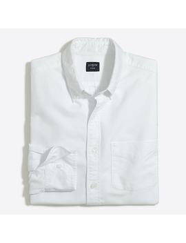 Flex Oxford Cotton Shirt by J.Crew