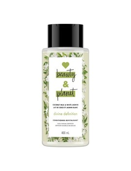Love Beauty & Planet Coconut Milk And White Jasmine Divine Definition Hair Conditioners   13.5 Fl Oz by Love Beauty & Planet