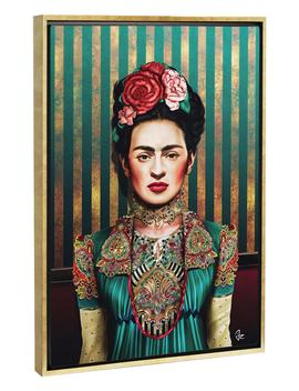 Frida By Giulio Rossi Giclée Print Canvas Art by Icanvas