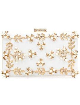 Milisente Women Clutches Pearls Evening Bag Clutch Purse Bags by Milisente