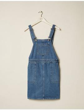 Corin Denim Pinafore by Fat Face