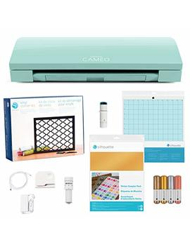 Silhouette Cameo 3 Limited Edition Mint Ultimate Starter Bundle by Silhouette