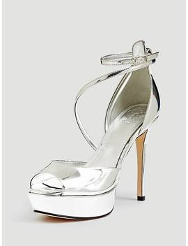 Lohana Laminated Look Sandal by Guess