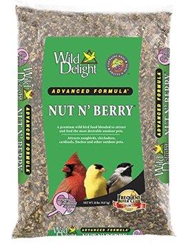 Wild Delight 366200 Nut N' Berry Bird Food, 20 Lb by Wild Delight