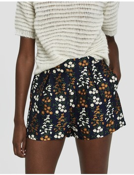 Lexa Jacquard Floral Shorts by Farrow