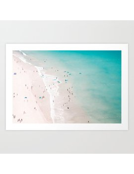 Beach   Summer Love Ii Art Print by