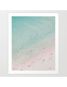 Beach   Summer Of Love Iii Art Print by
