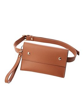 Faux Leather Belt Bag by Charlotte Russe
