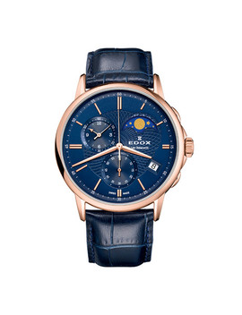Edox Les Bemonts Chronograph Quartz // 01651 37 R Buir by Touch Of Modern