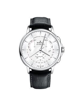 Edox Les Bemonts Perpetual Calendar Quartz // 01602 3 Ain by Touch Of Modern
