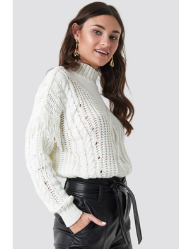 Cable Knit Detailed Sweater by Trendyol