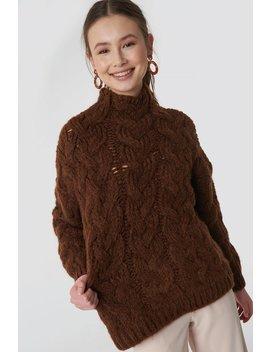 Trenzas Sweater by Mango