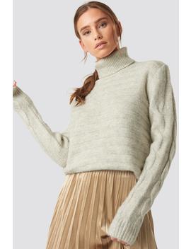 Yol Knitted Polo Jumper by Trendyol