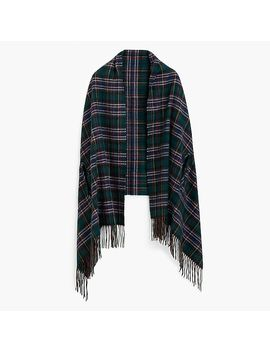Cape Scarf In J.Crew Signature Tartan by J.Crew