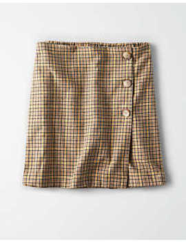 Ae Button Mini Skirt by American Eagle Outfitters