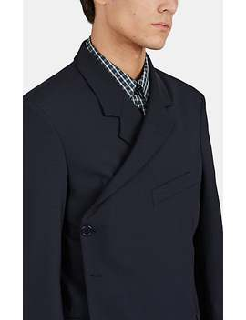 Wrap One Button Sportcoat by Martine Rose