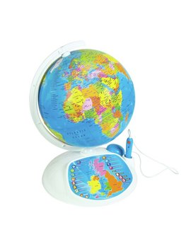Clementoni Interactive Educational Talking Globe by Argos