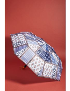 Paisley Patchwork Umbrella by Anthropologie