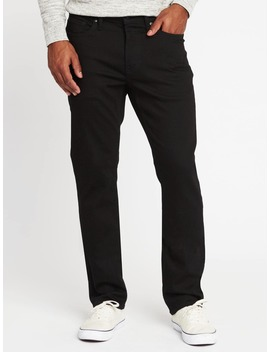 Straight Built In Flex Max Never Fade Jeans For Men by Old Navy