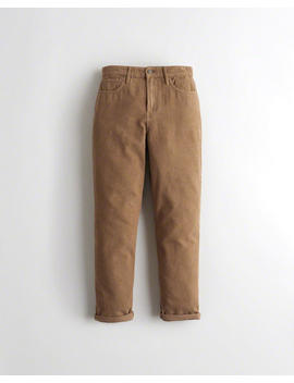 Ultra High Rise Corduroy Mom Pants by Hollister