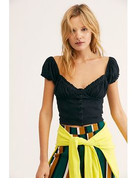 Ladybug Crop Top by Free People