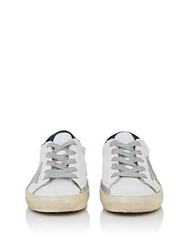 Kids' Superstar Leather Sneakers by Golden Goose