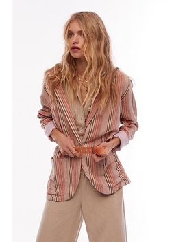 Simply Stripe Blazer by Free People