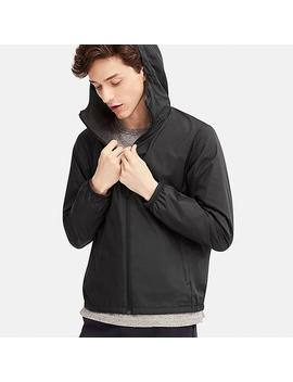 Men Hooded Reversible Pocketable Parka by Uniqlo