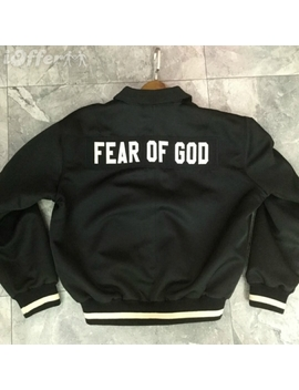 Fear Of God Fifth Collection Mens Track Jacket Coat New by I Offer