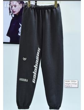Season 5 Calabasas Track Pants Yeez Pants Sweatpants by I Offer