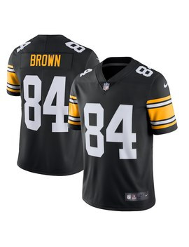 Antonio Brown Pittsburgh Steelers Nike Alternate Vapor Untouchable Limited Jersey – Black by Nike