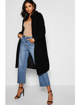 Tall Oversized Teddy Faux Fur Coat by Boohoo