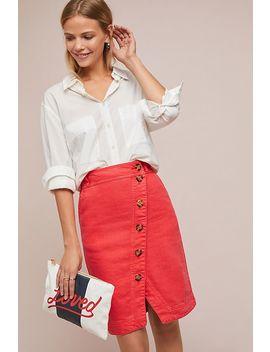 Derina Wrap Skirt by Anthropologie