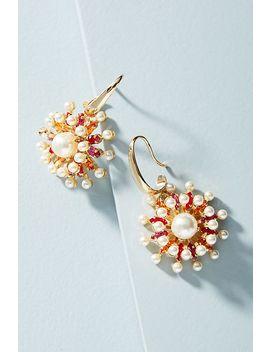 Bursting Blooms Drop Earrings by Anton Heunis