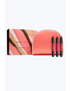 Somewhere, Anywhere Liquid Lip Crayon Collection by Marc Jacobs