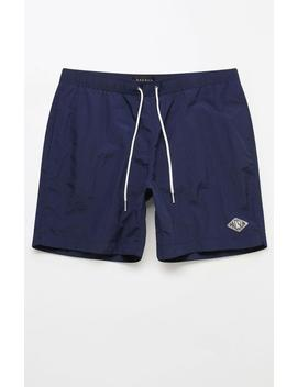 """Pac Sun Solid 17"""" Swim Trunks by Pacsun"""