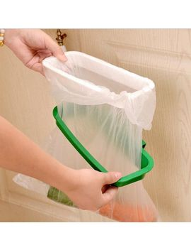 Kitchen Hanging Trash Rubbish Bag Holder Garbage Storage Rack Cupboard Hanger Uk by Ebay Seller
